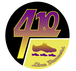 410 Line Dances Logo