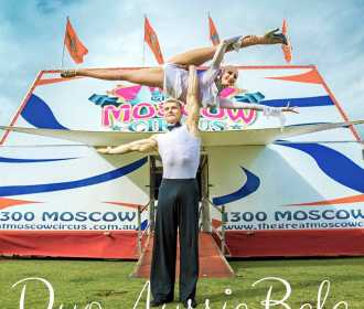 Duo AussieBela Moscow Circus