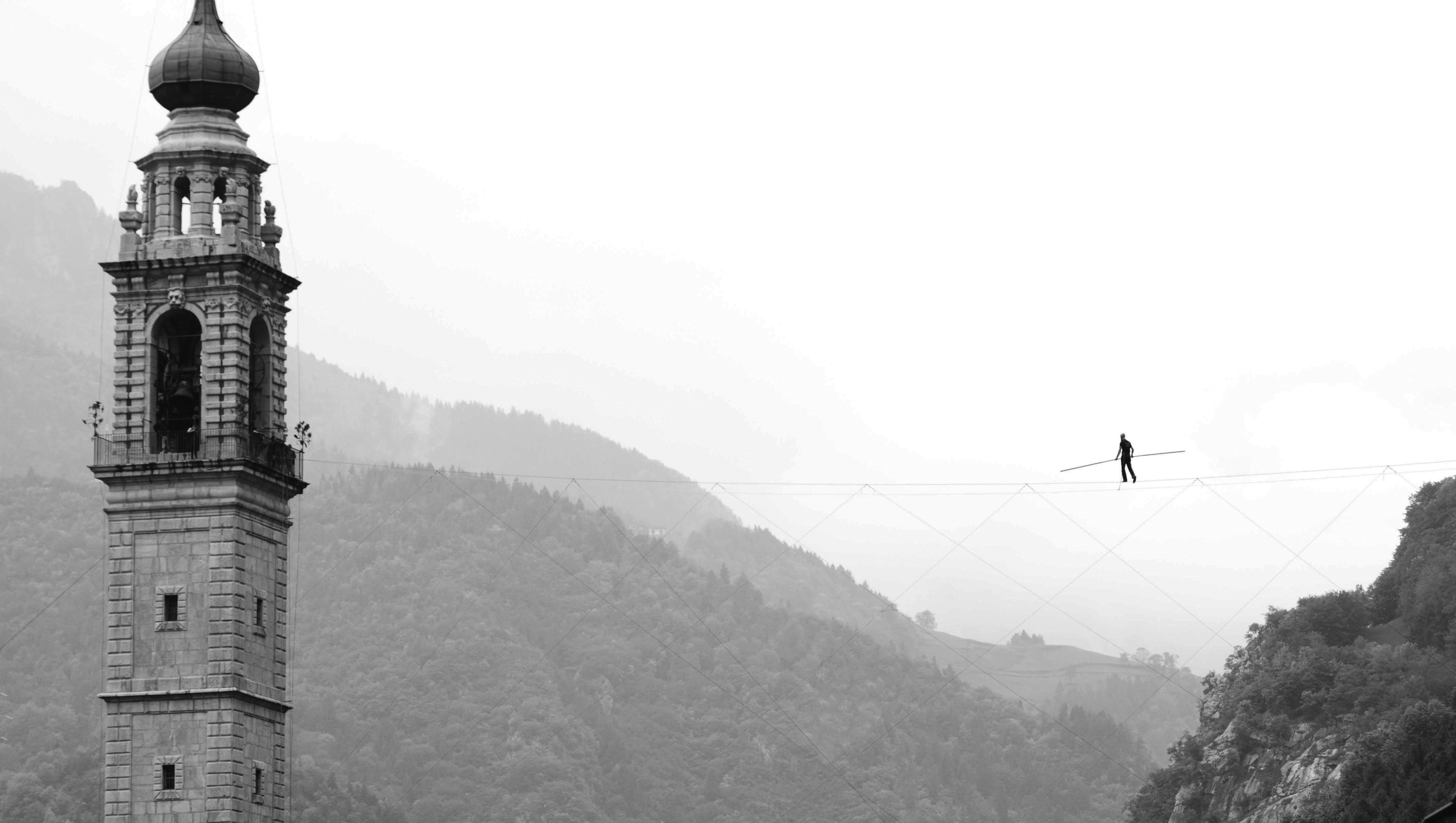 Tightrope | Turin, Italy | Andrea Loreni - High wire walker | Funly